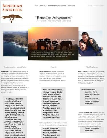 The New & Improved Renedian.com Website