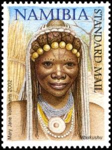 stamp mbukushu hairstyle 12-01 web Tribal Headdresses