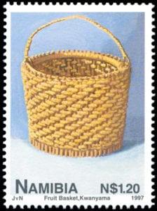 stamp owambo fruit basket - johan van niekerk 1997 web