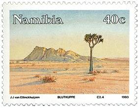 stamp quiver tree blutkuppe - van ellinckhuizen 1993 small