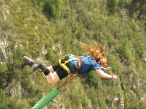 PH Blaukrans Bungy Jump World's Tallest at 708 Feet little